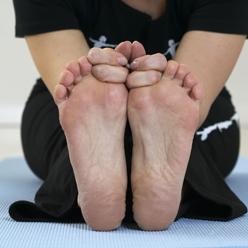 Sunde fødder med fodtræning