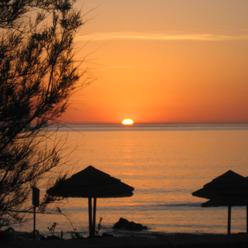 Solnedgang-pilatesrejse-Korsika