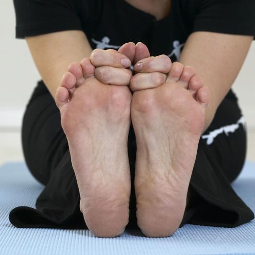 Sunde fødder med yogaworkshop