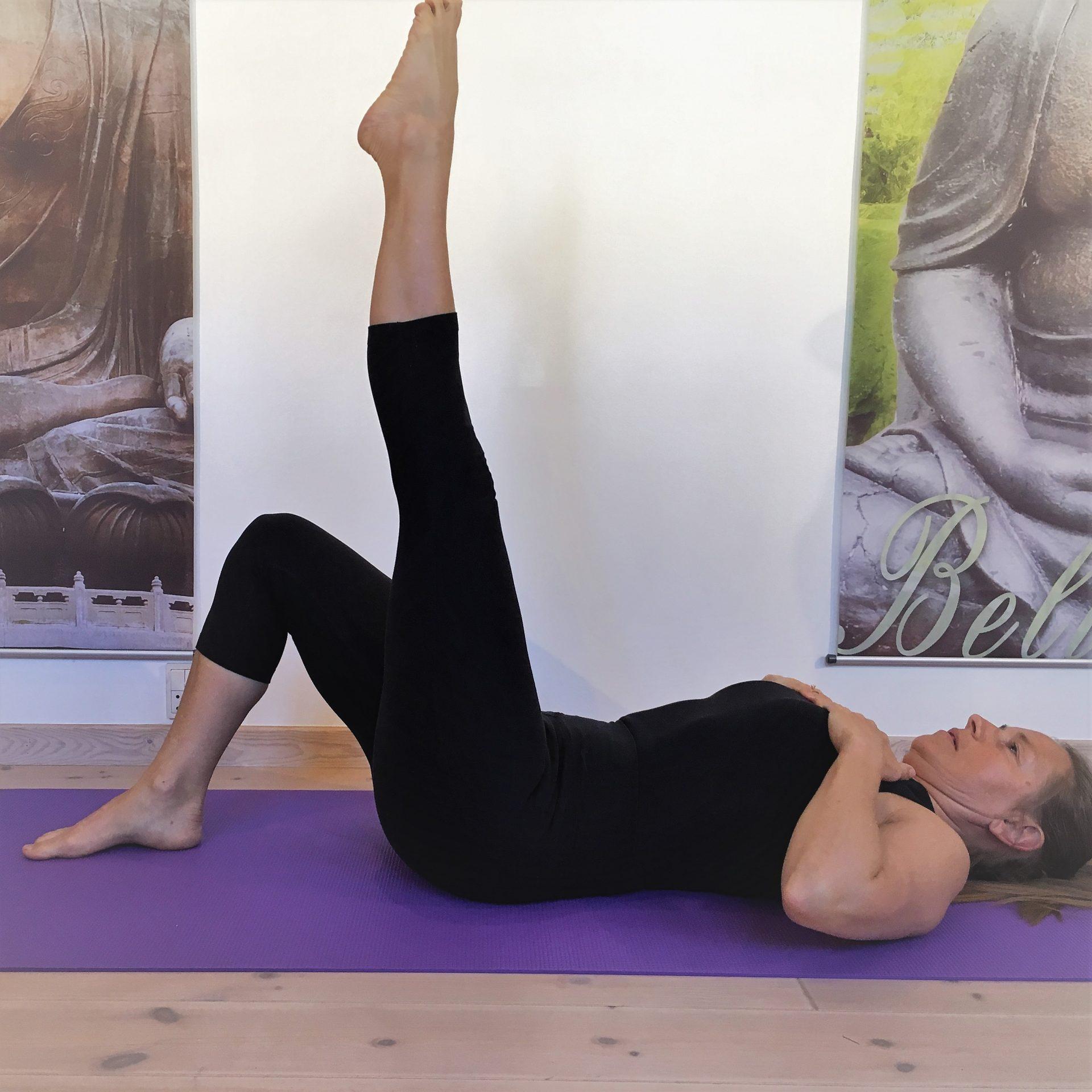 Flad mave, stærk ryg og sund krop